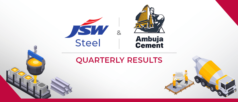 JSW Steel and Ambuja Cements results