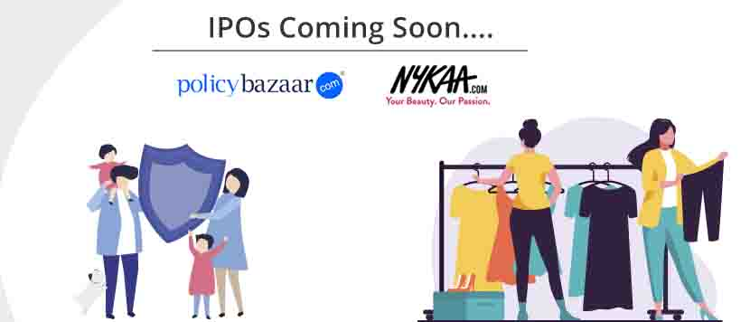 Nykaa and Policybazaar file for IPO