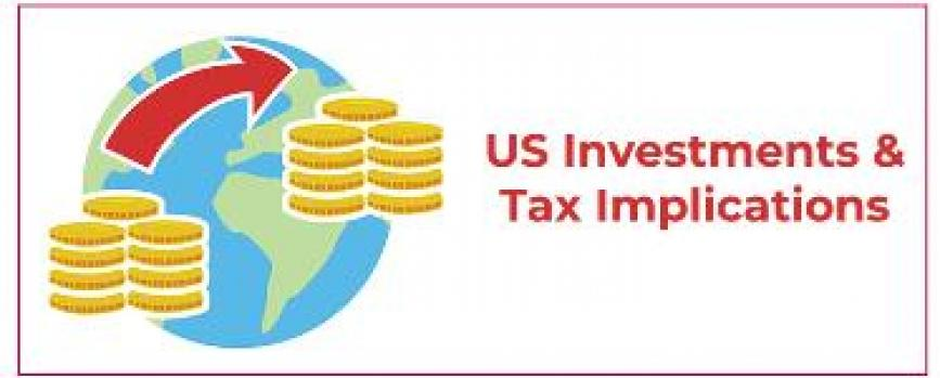 How taxes will work for investors in India when investing in the US?