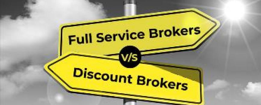 Difference Between Discount Brokers and Full Service Brokers