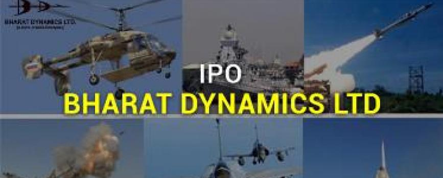 IPO Note: Bharat Dynamics Ltd-Not Rated