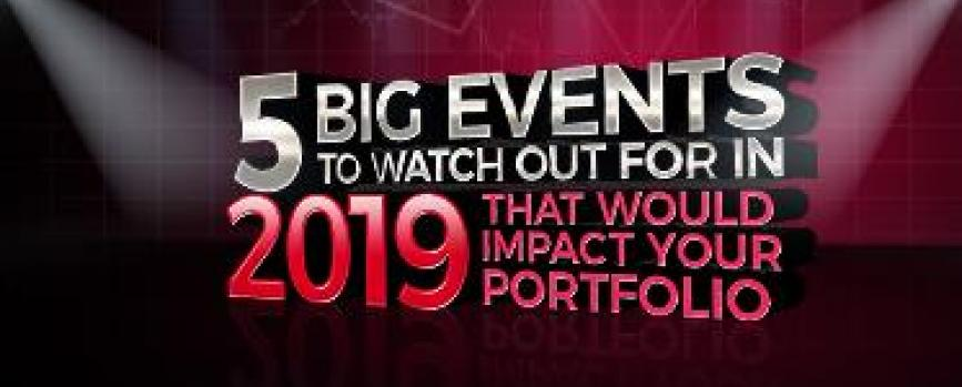 2019: 5 big events to watch out for that would impact your portfolio