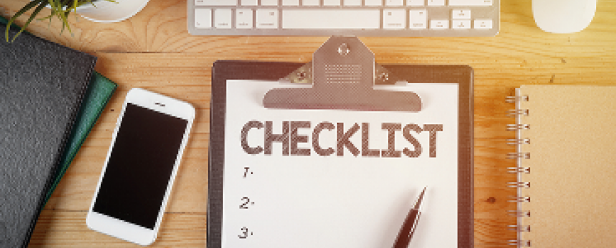 Creating a financial checklist before the end of 2019
