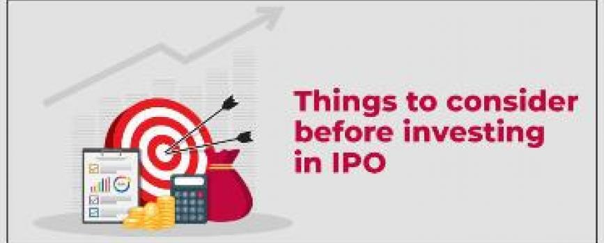 What to consider before investing in an IPO?