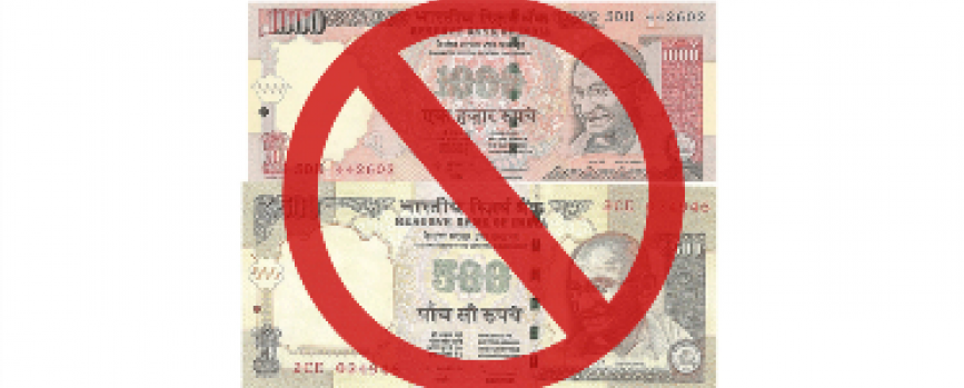 10 things you should know about Rs. 500 and Rs. 1,000 discontinuation