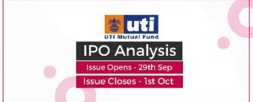 UTI AMC IPO Analysis: All You Need to Know About the Issue