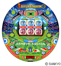SANKYO:パチンコ新機種『CRフィーバー スーパースタジアム』発表
