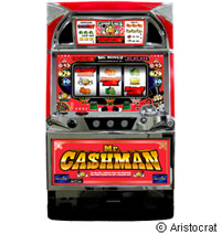 人気カジノマシーンがモチーフの完全告知機『キャッシュマン』登場!