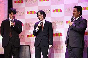 左から岩見氏、中村氏、岡田氏。白熱のトークセッションは20分近くにも及んだ