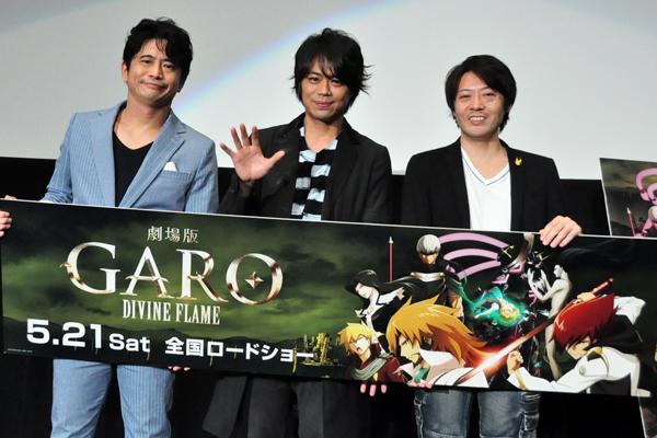(左から)萩原聖人さん、浪川大輔さん、林祐一郎監督
