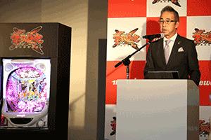 「原点超えを目指した意欲作」と語る同社専務取締役・笹本氏