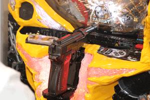 専用筐体「PEACE GUN」の目玉「ルパントリガー」