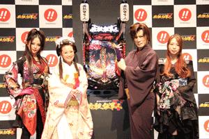 左から上木彩矢、鈴木奈々、京本政樹、mi-yaさん