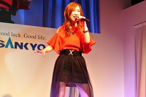 2018年、歌の初仕事がこのイベントだった森口博子
