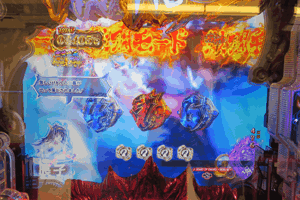 激闘モード中はゾロ目G数のバトル発展で夢幻BONUS突入のチャンス