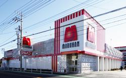 マルハン 昭島店の外観