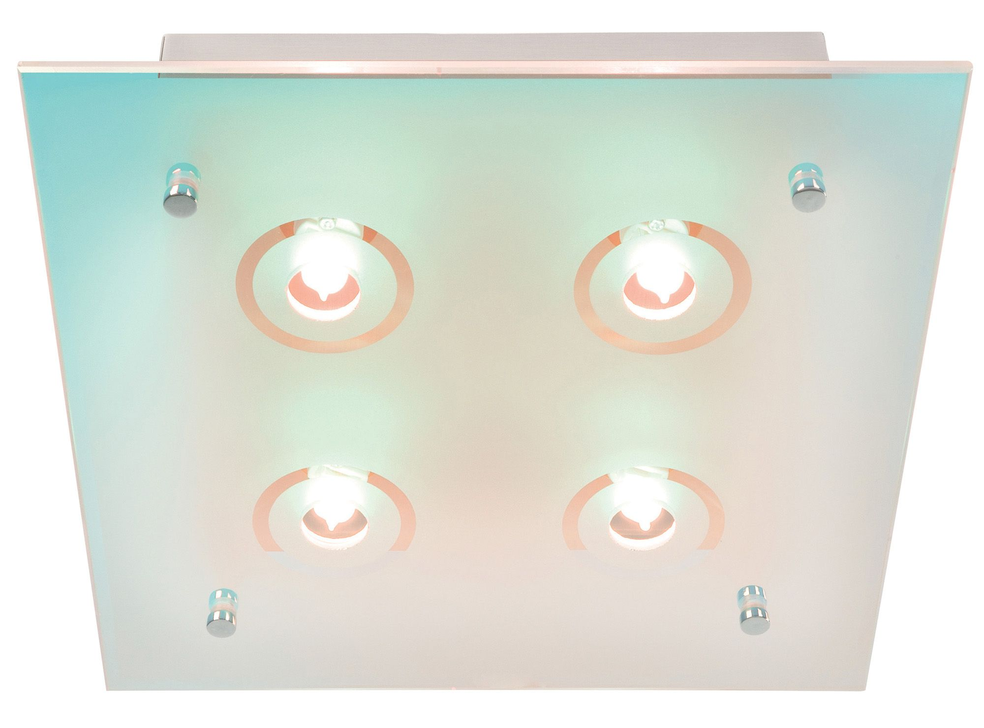 Picture of: Lights By B Q 1 Flush Ceiling Light