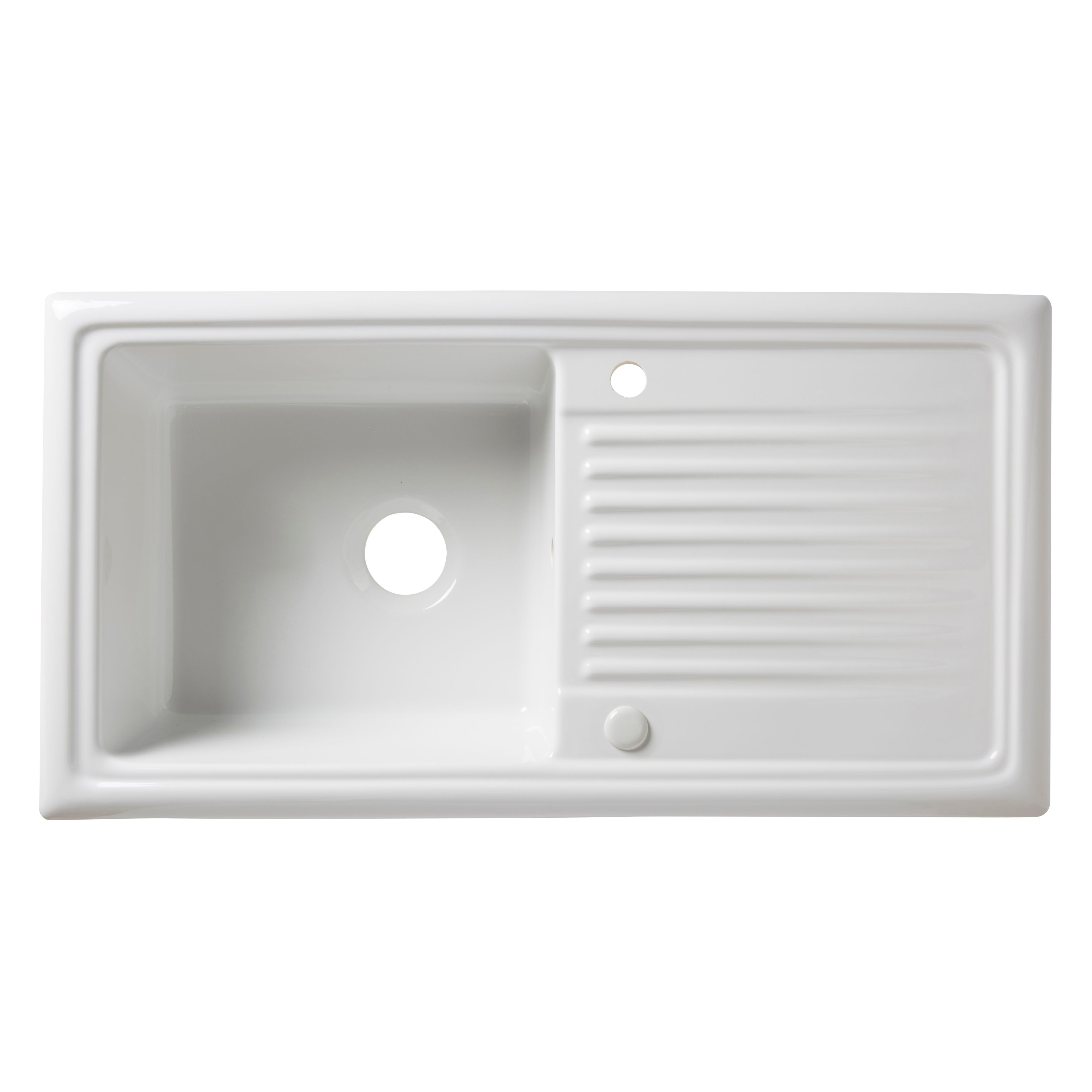 Cooke And Lewis Kitchen Sinks White ceramic kitchen sink b q sink ideas cooke lewis burbank 1 bowl white ceramic sink drainer workwithnaturefo
