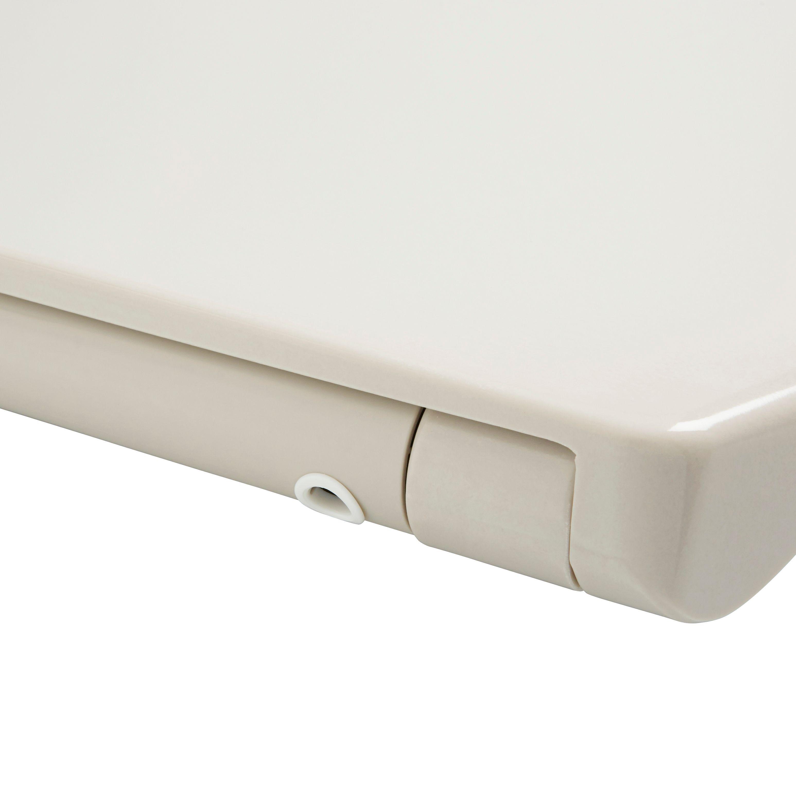 cream toilet seat soft close. Cooke  Lewis Diani Cream Top Fix Soft Close Toilet Seat Surprising Photos Exterior Ideas 3D