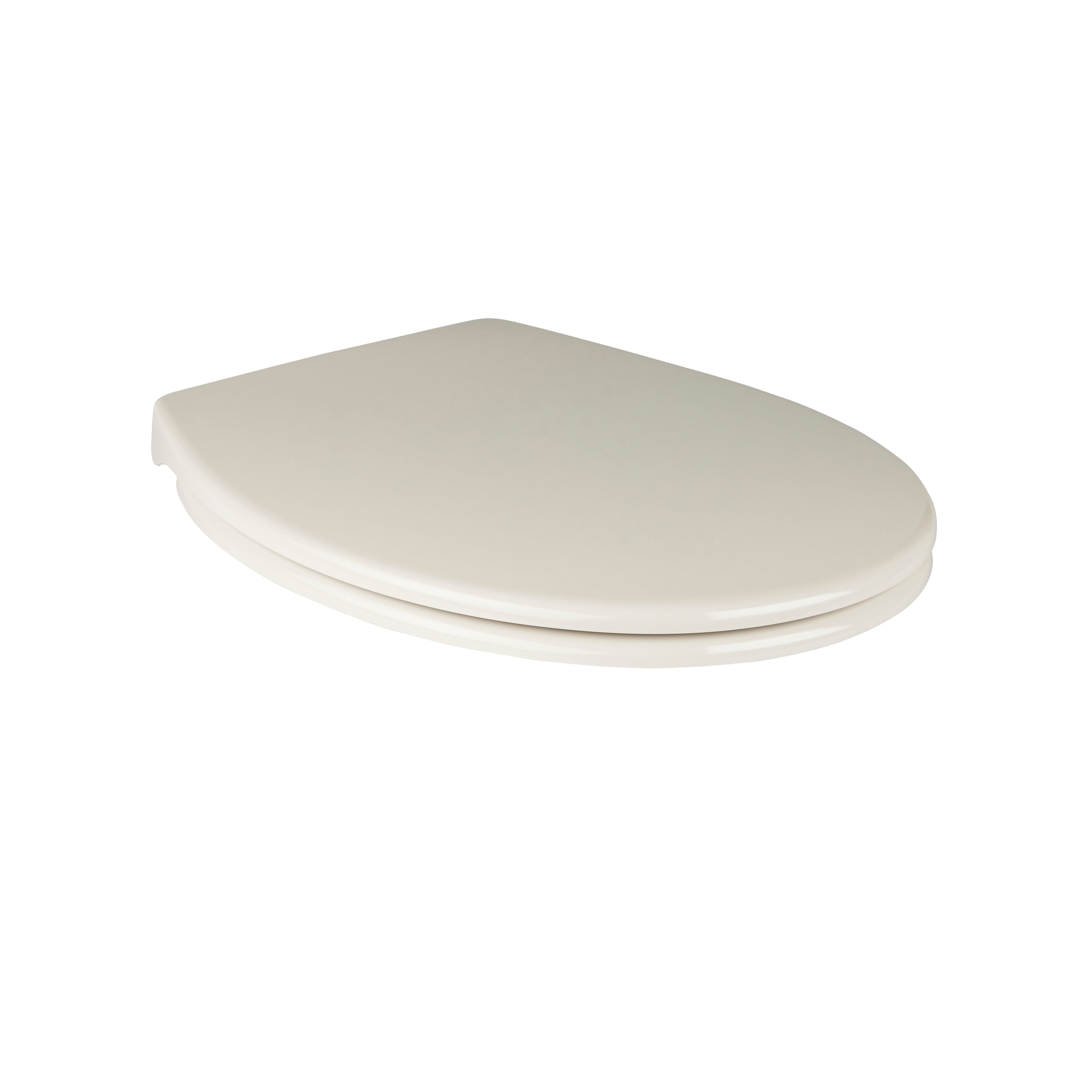 Cooke Lewis Diani Cream Top Fix Soft Close Toilet Seat