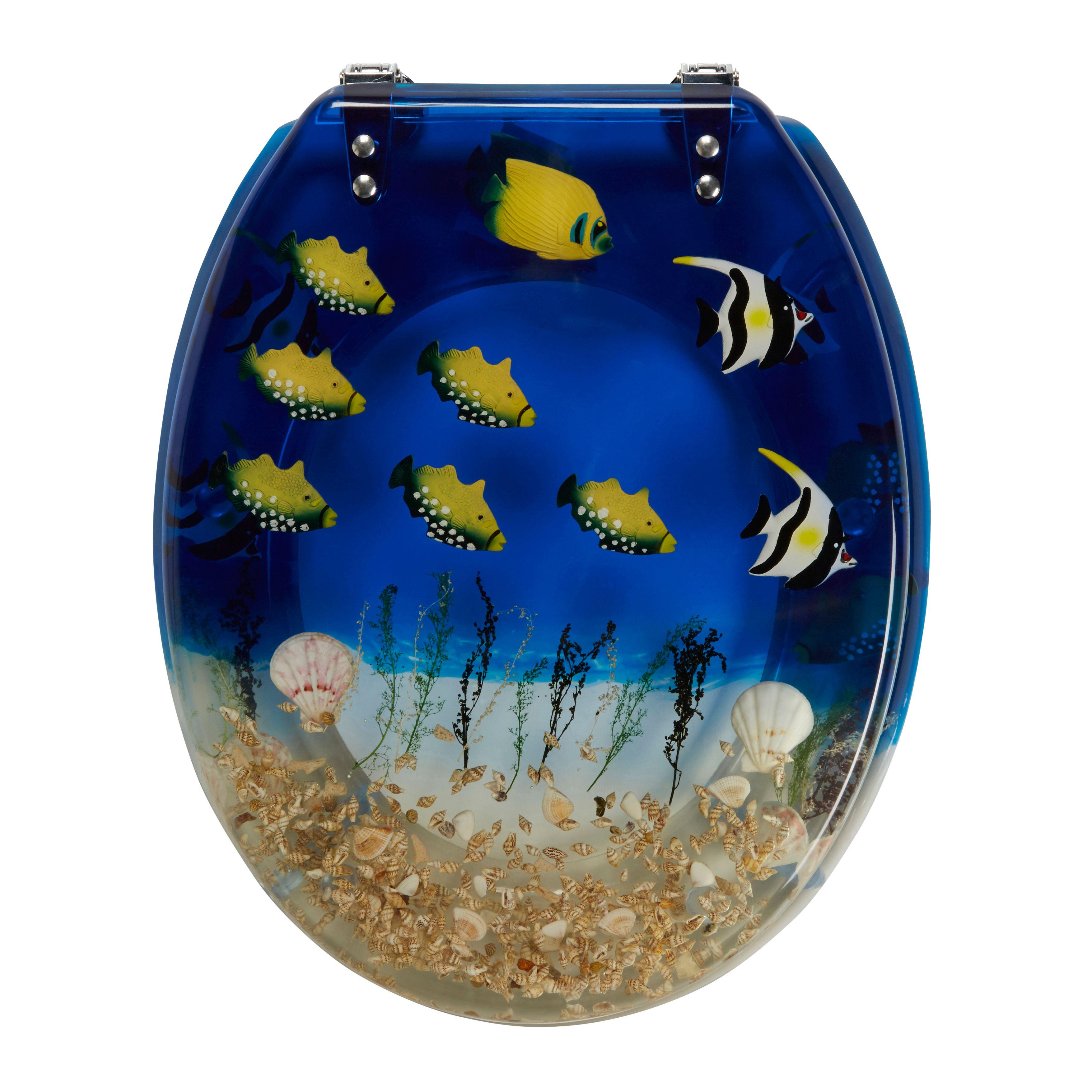 Phenomenal Cooke Lewis Andrano Multicolour Tropical Fish Standard Creativecarmelina Interior Chair Design Creativecarmelinacom