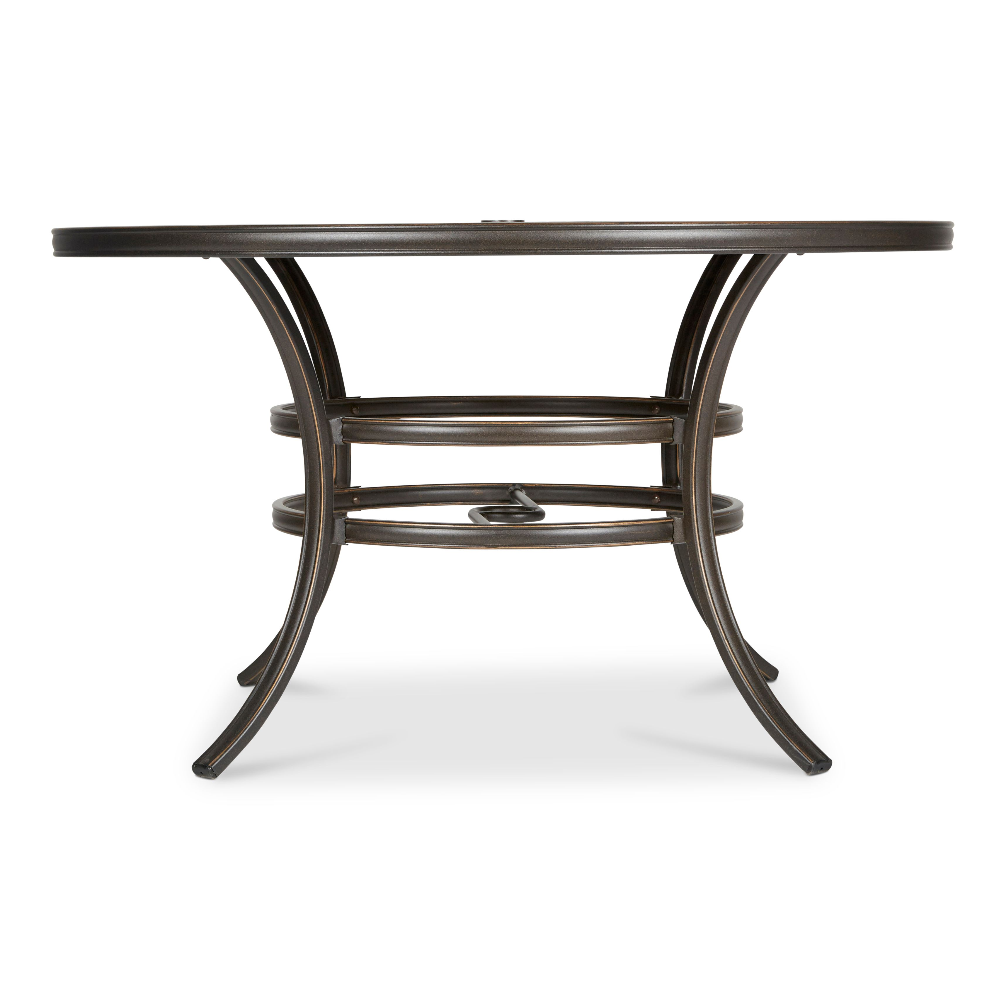 Ripley Metal 6 Seater Dining Table