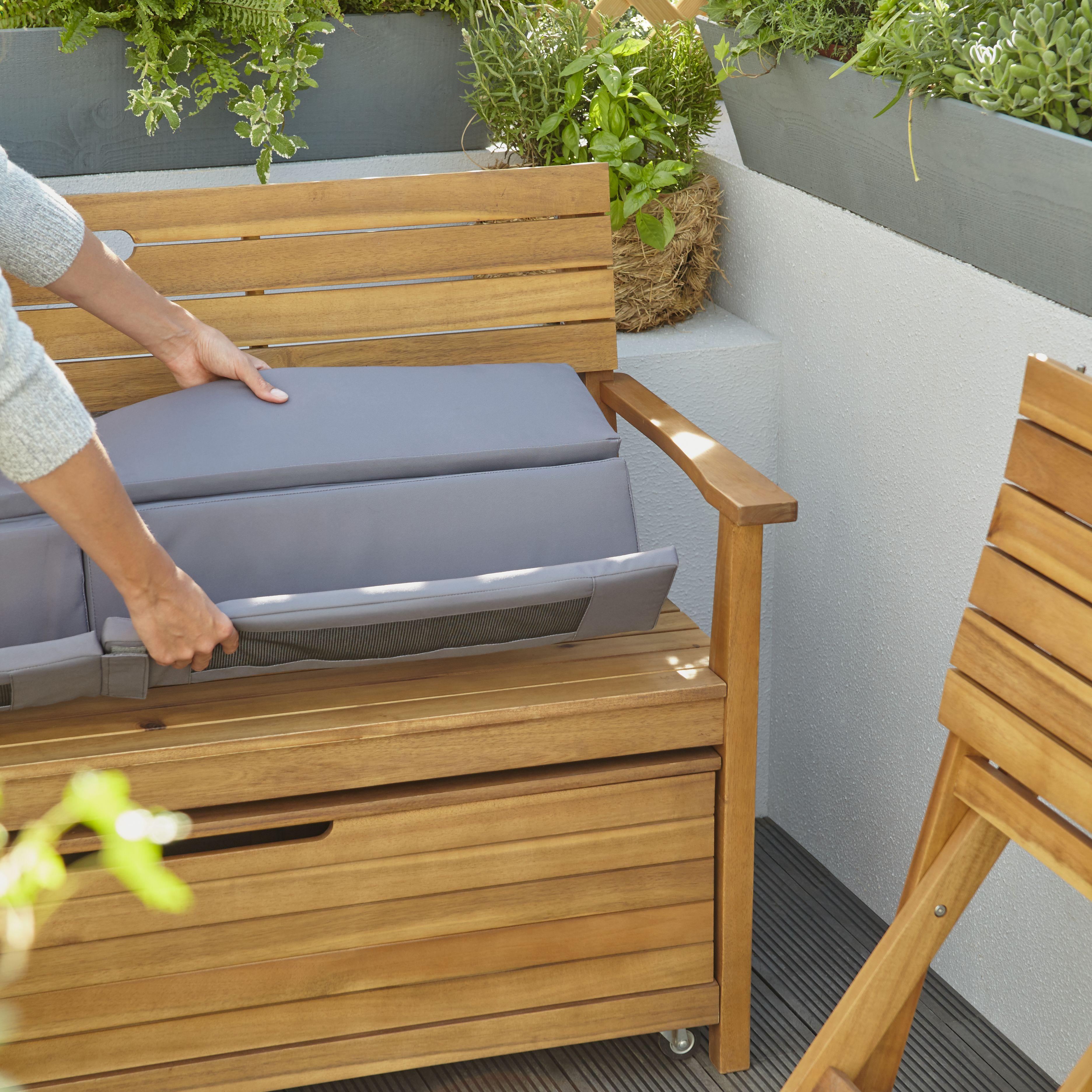 Denia Wooden Garden Bench