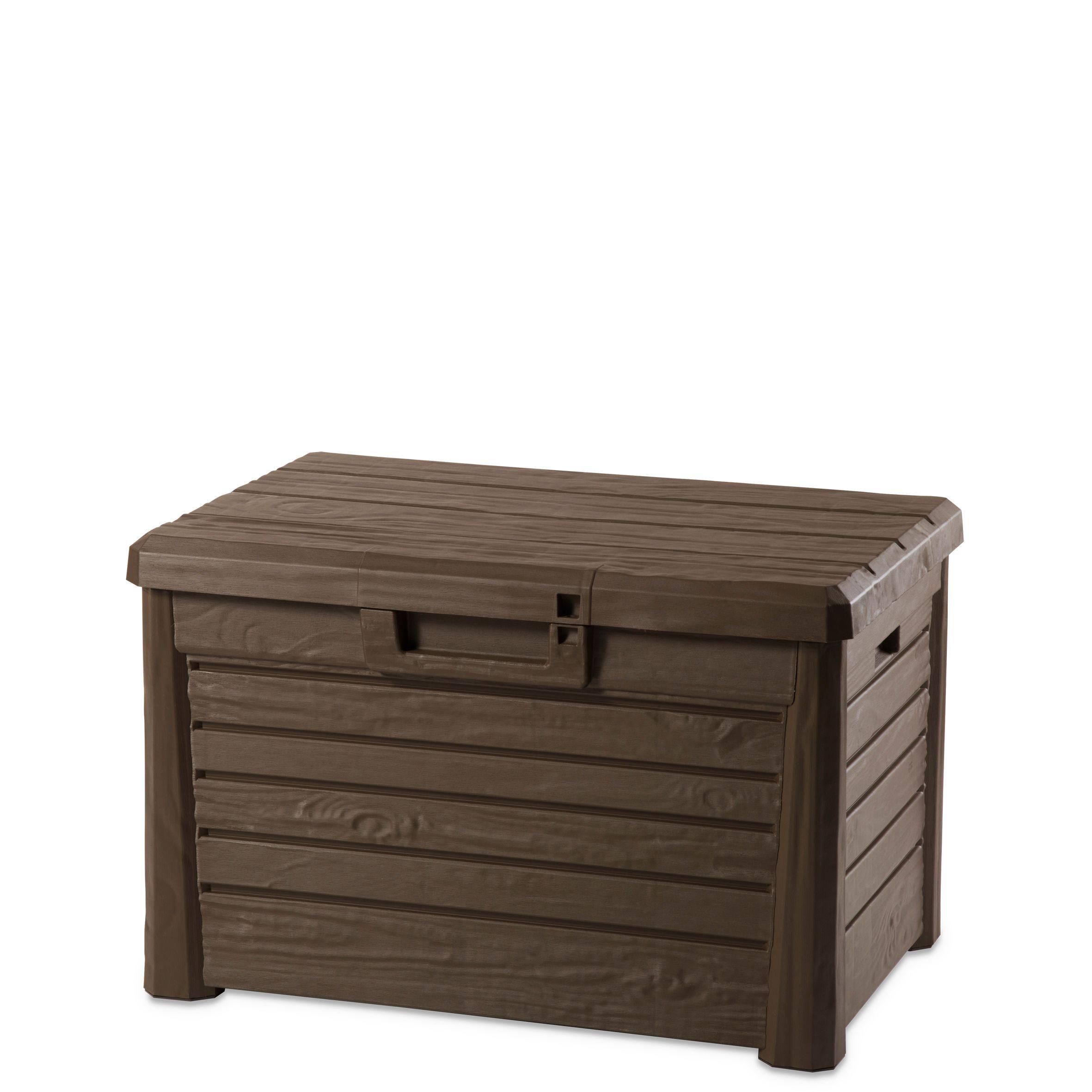 lomani plastic garden storage box 120 l - Garden Storeage Boxes