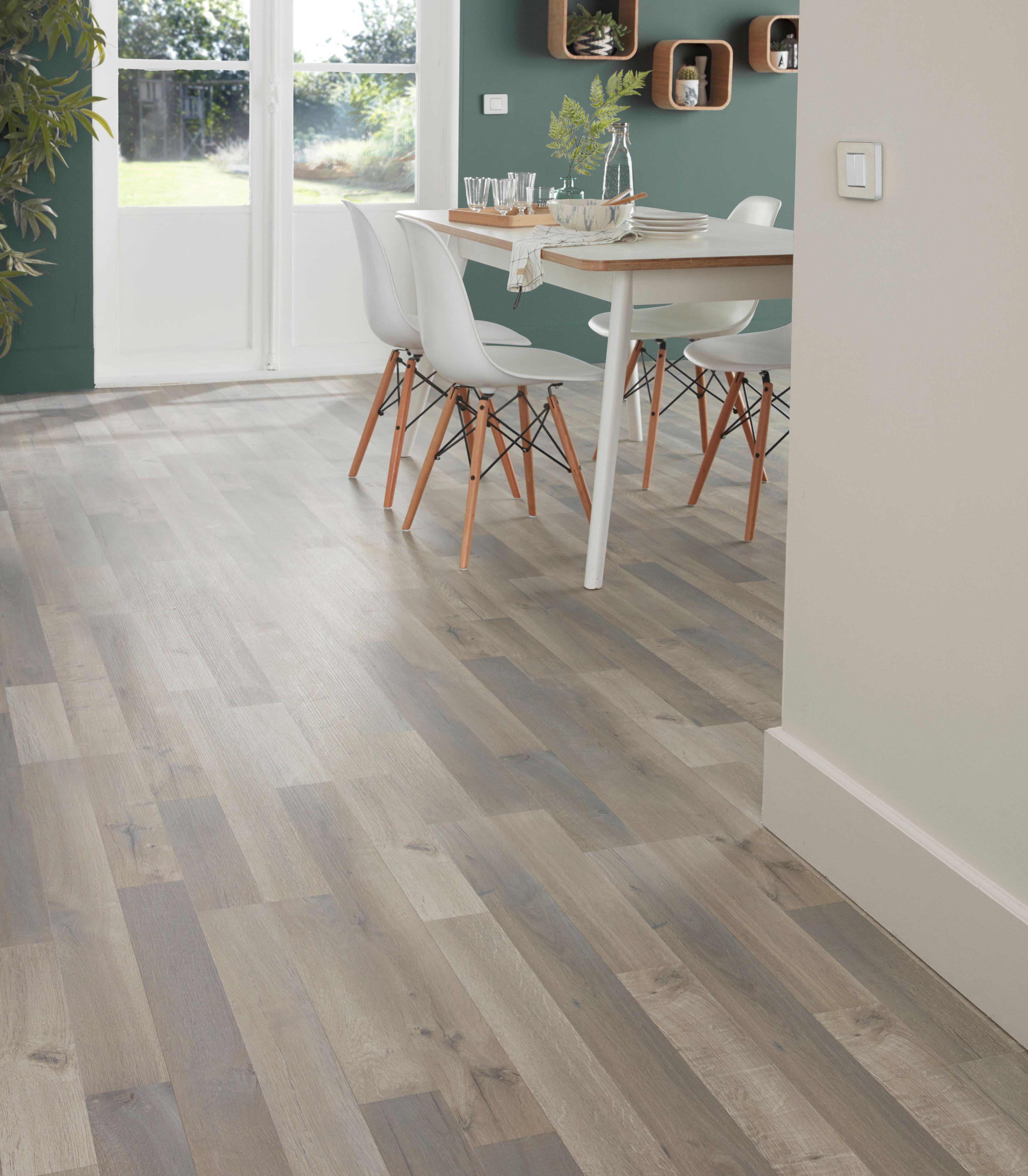 Addington Grey Oak Effect Laminate Flooring 1 996 M² Pack