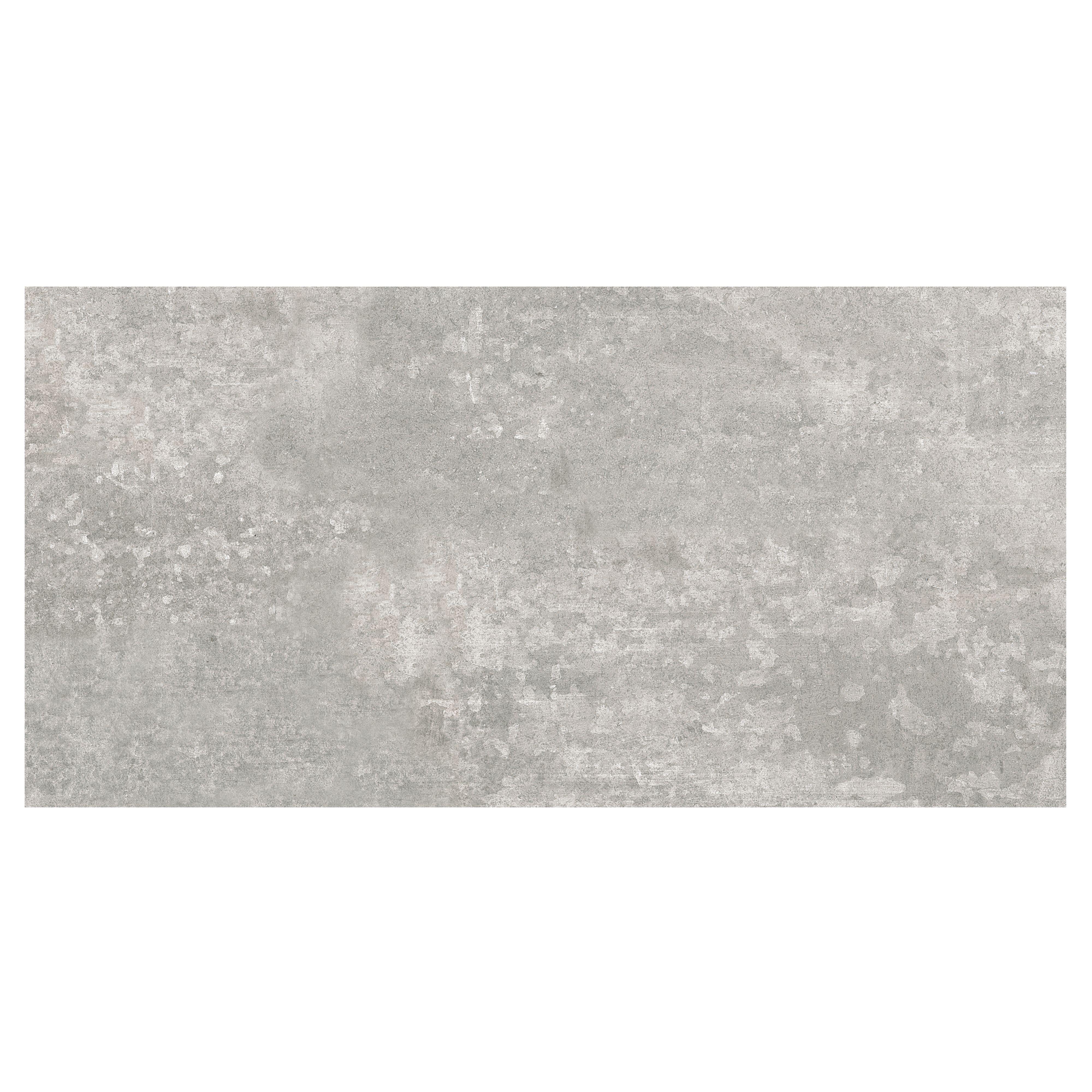 urban grey matt ceramic wall floor tile pack of 5 l 600mm w 300mm