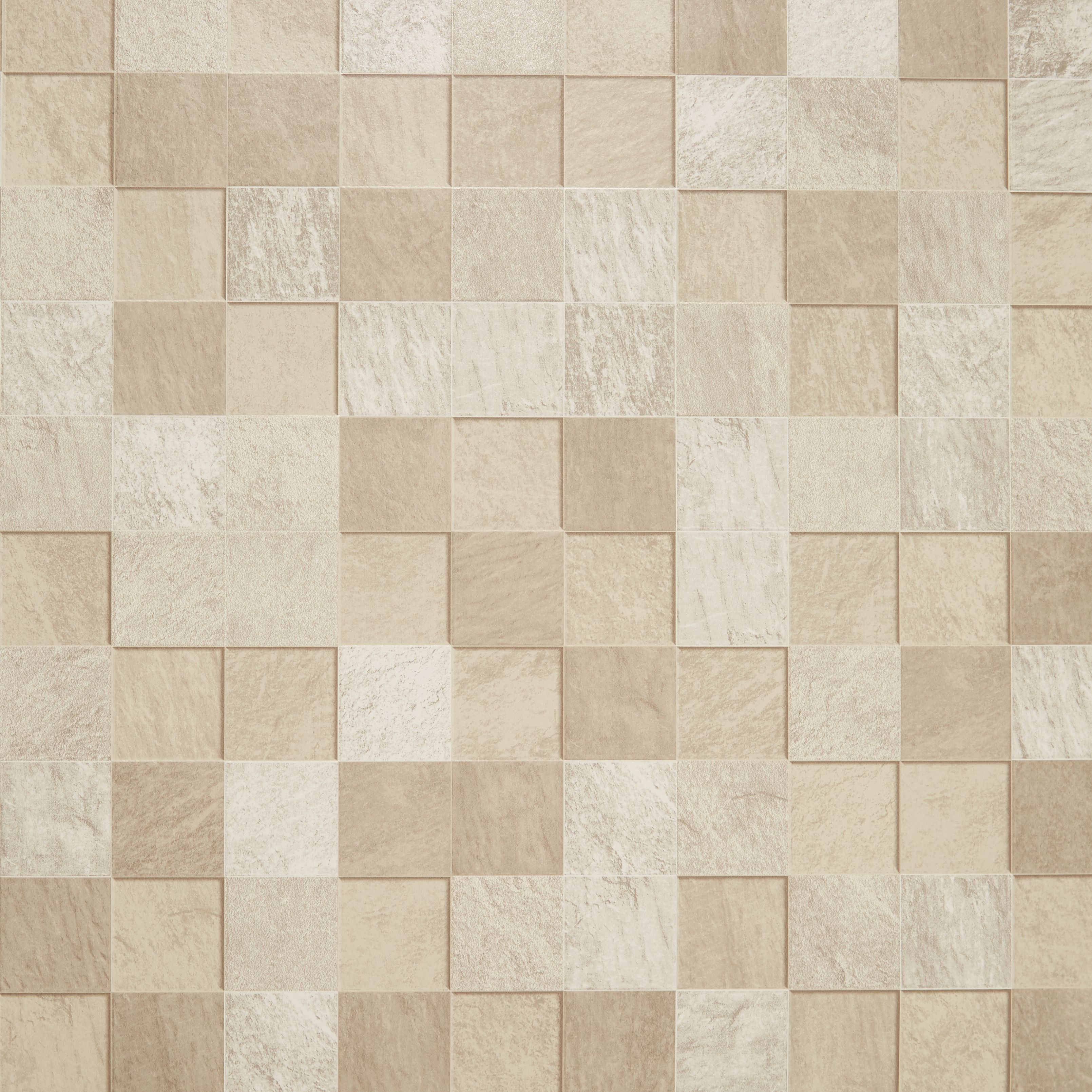 Graham & Brown Contour Beige Natural Stone Tile Kitchen & Bathroom ...