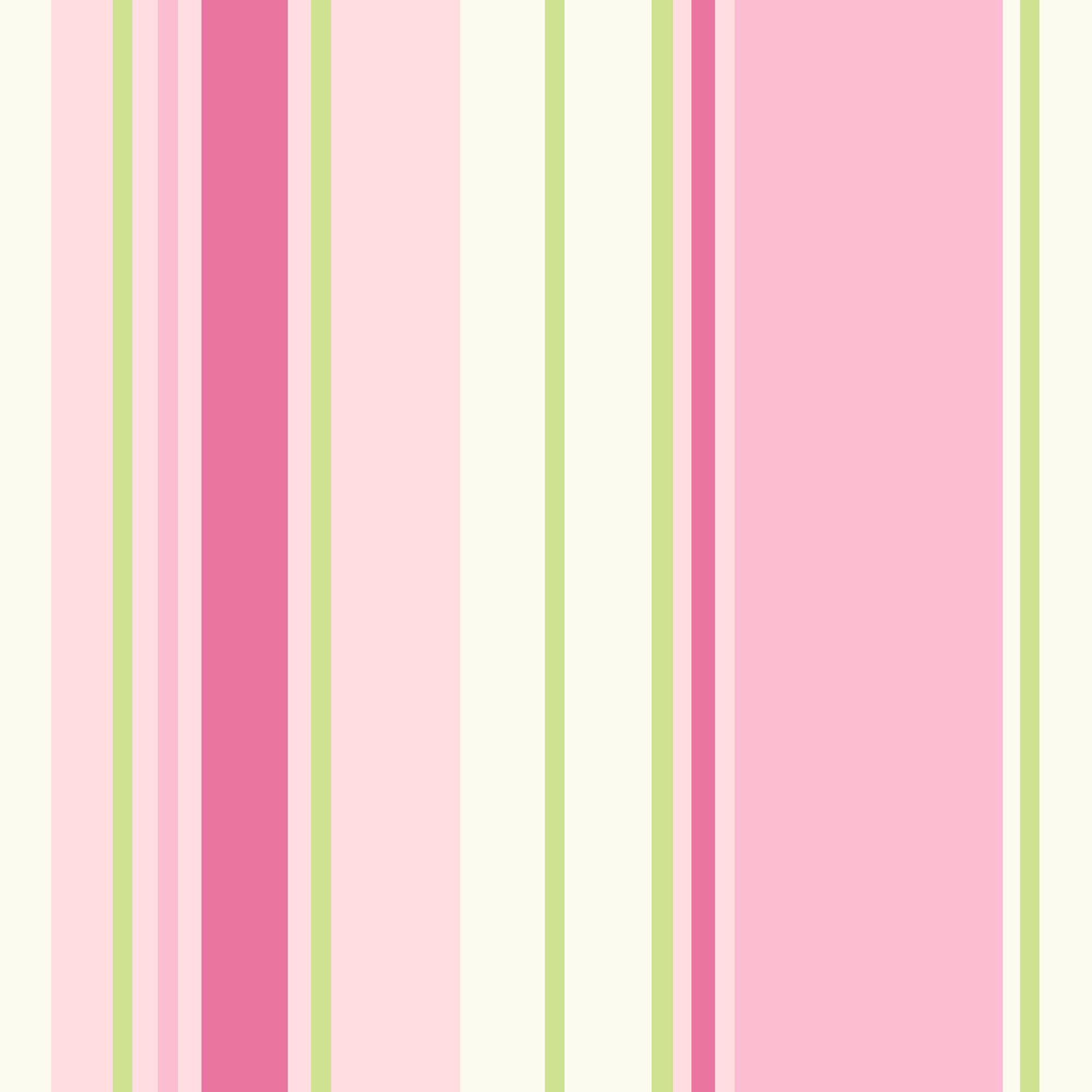 Holden Decor Paige Green Pink Stripe Wallpaper