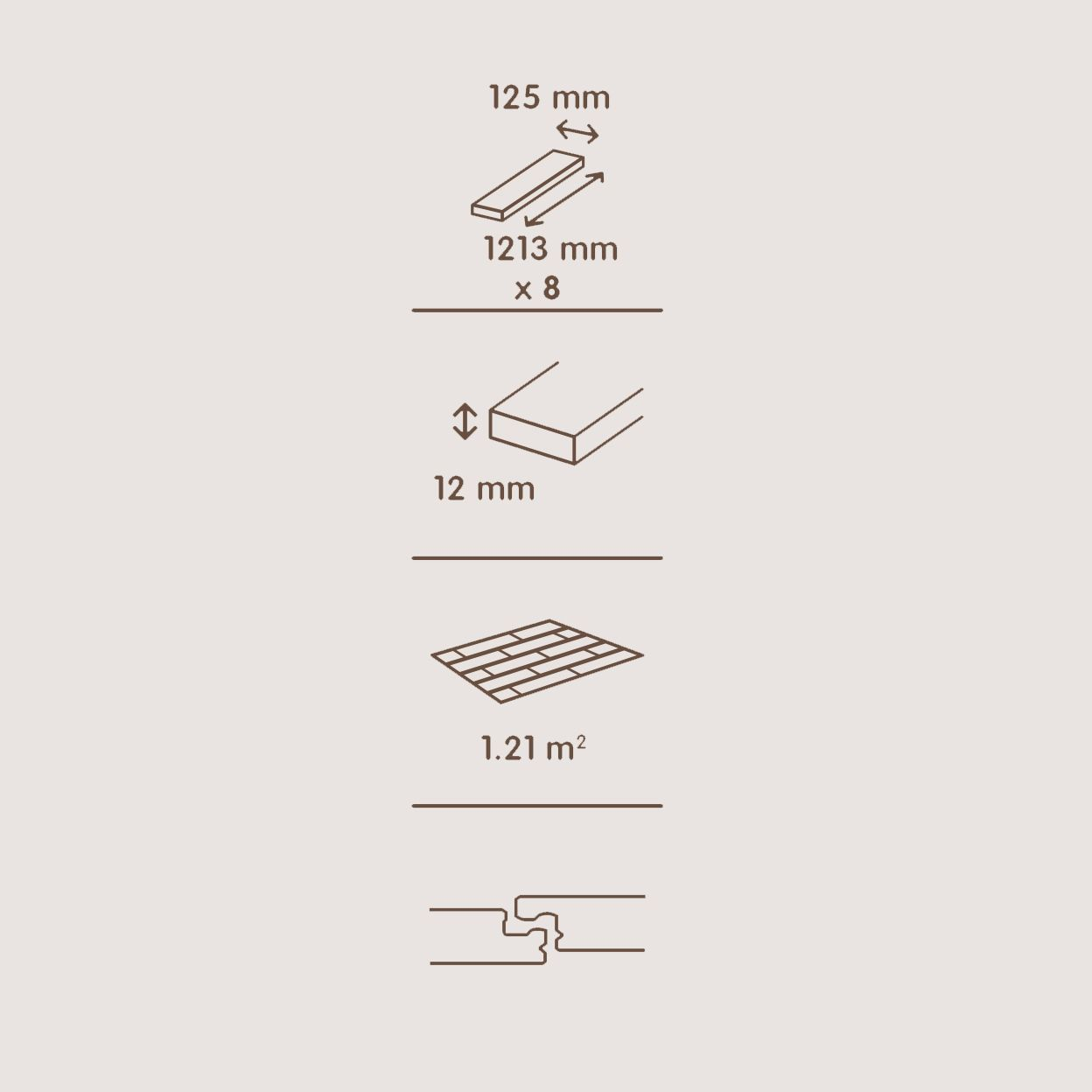 Dolce Walnut Effect Laminate Flooring 1 19 M2 Pack