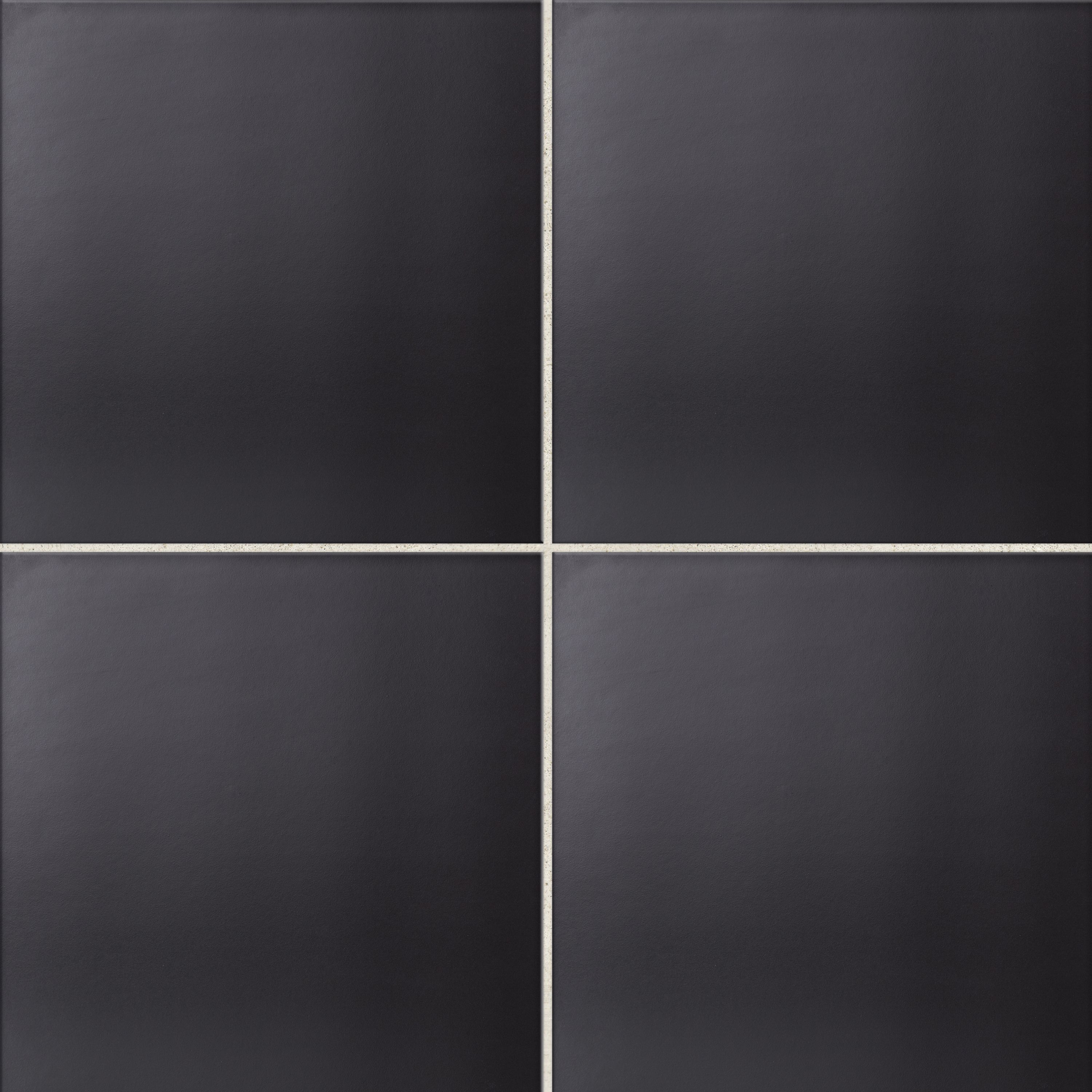 Umbria black porcelain floor tile pack of 9 l333mm w333mm dailygadgetfo Choice Image