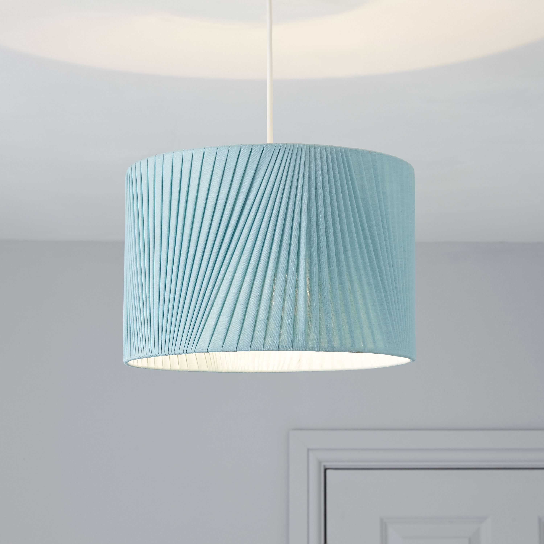 Colours Lainie Blue V Pleat Light Shade