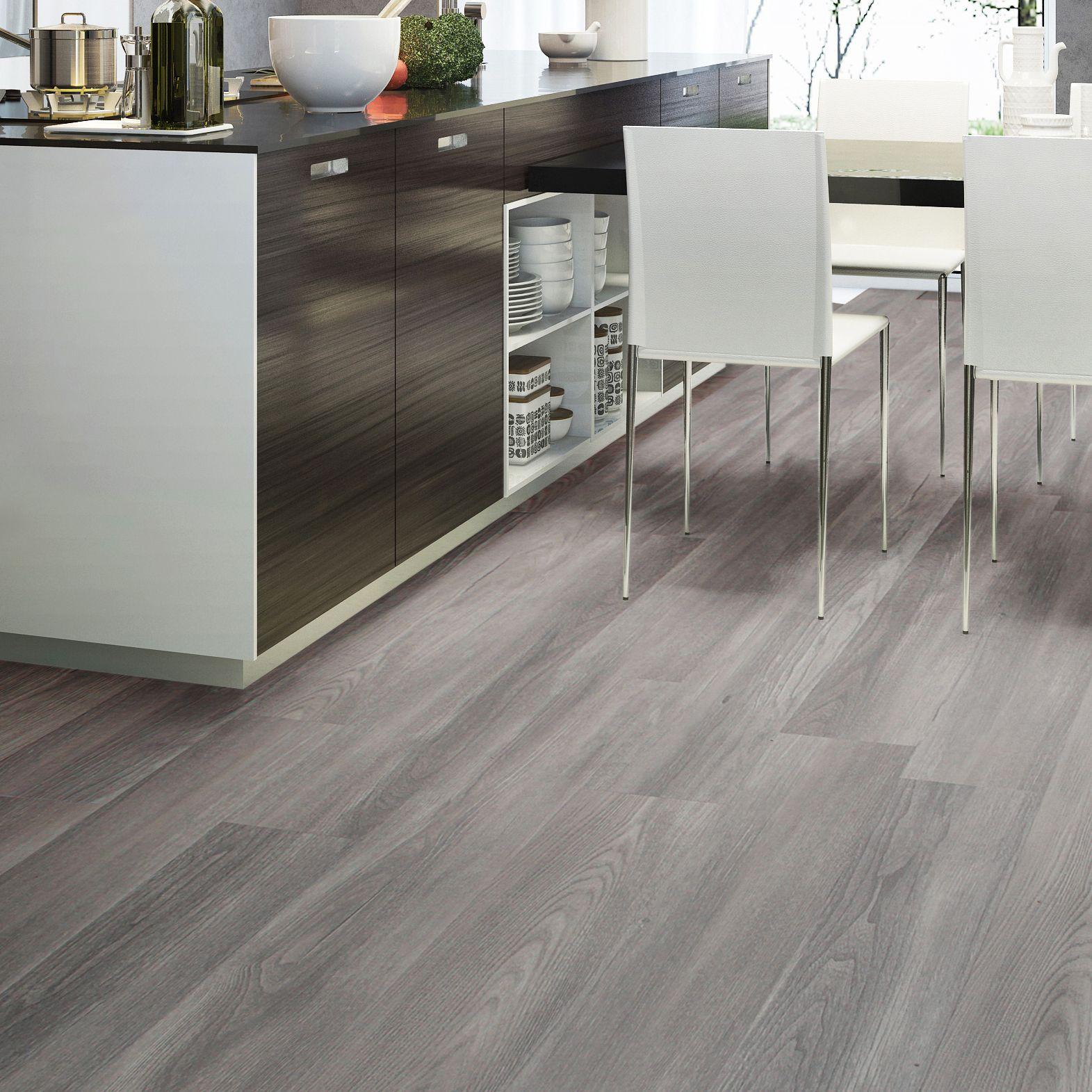 Grey Natural Oak Effect Waterproof