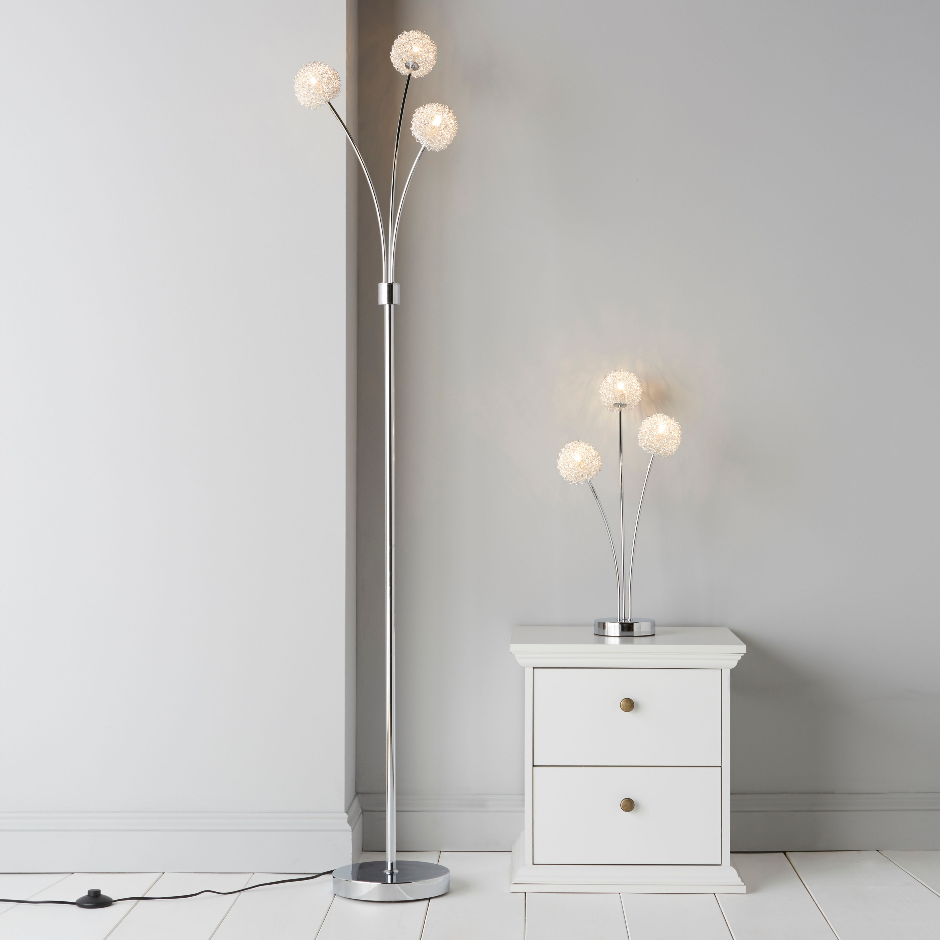 ceramic dallas free lamps overstock table today home lamp shipping chrome white garden led product