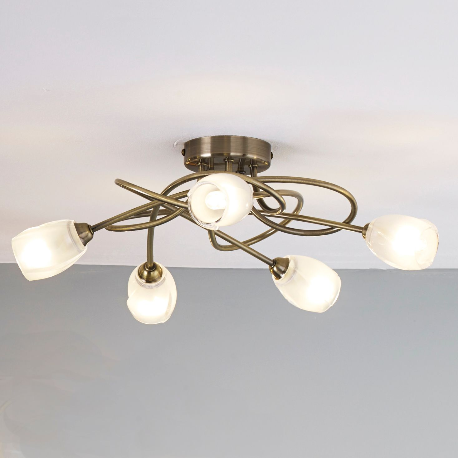 separation shoes c3548 418f9 Forbes 5 Lamp Ceiling Light