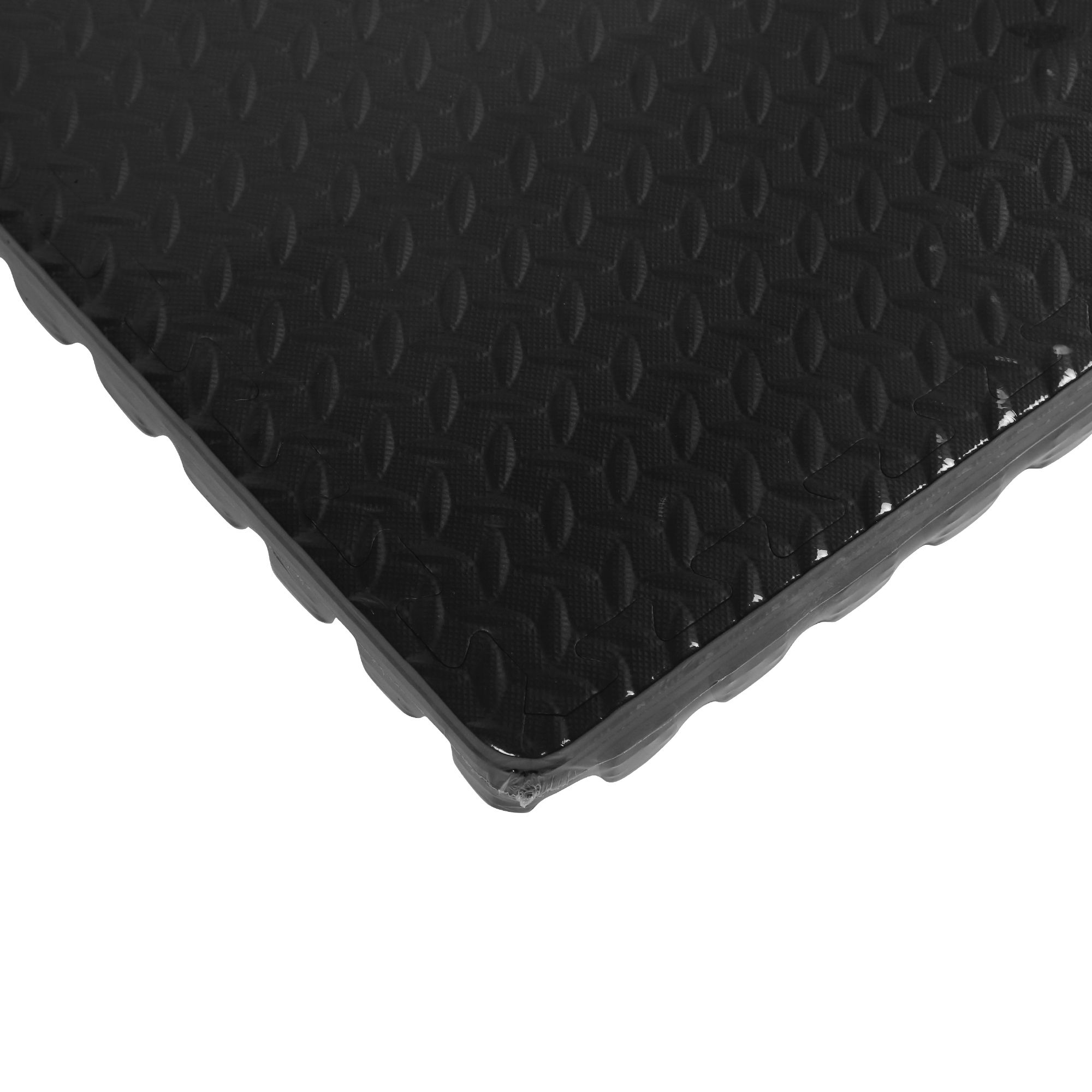 corner plasti pvc tuff mats floor product ramp lock tile interlocking garage floors flooring