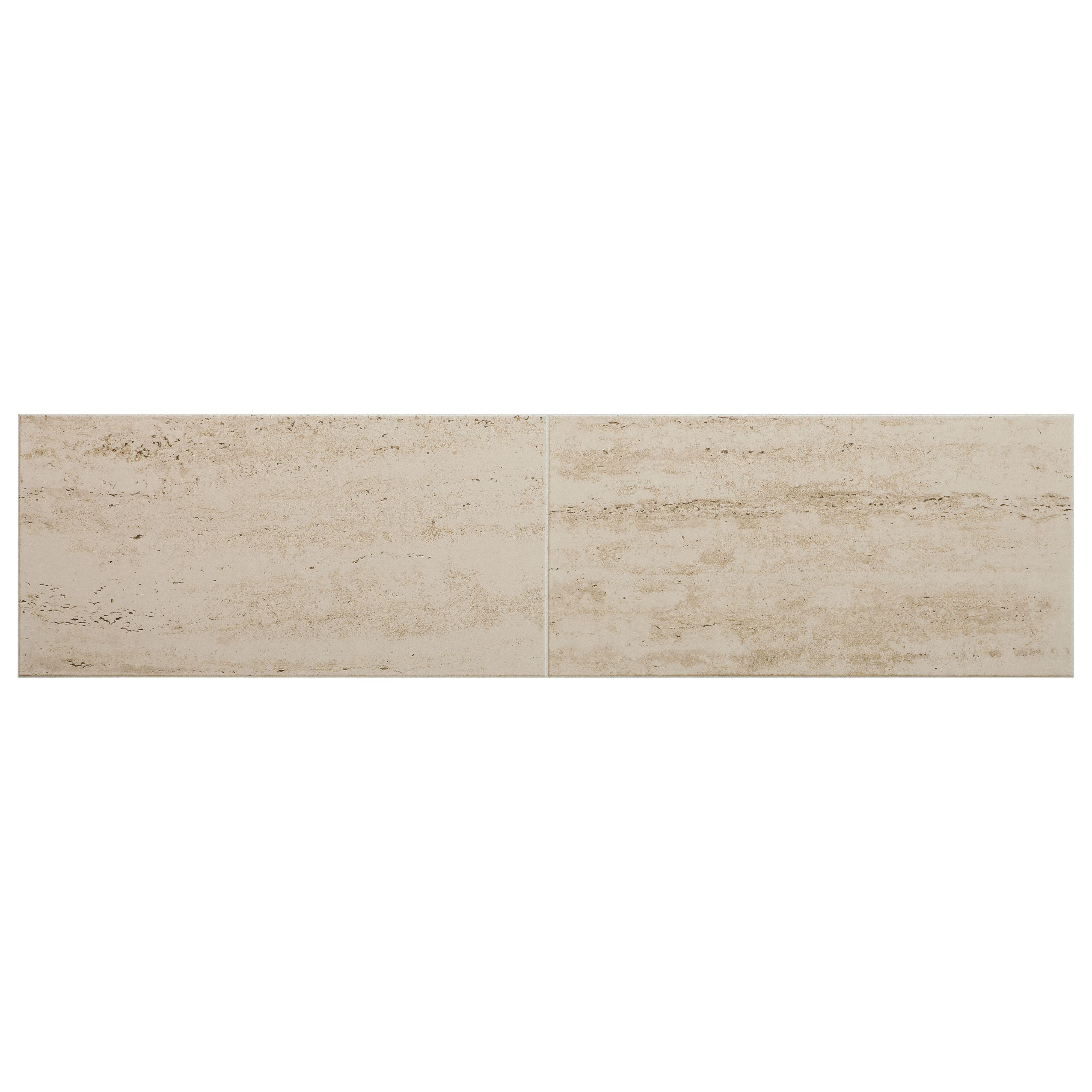 Leggiero cream travertine tile effect laminate flooring 172 m pack dailygadgetfo Gallery