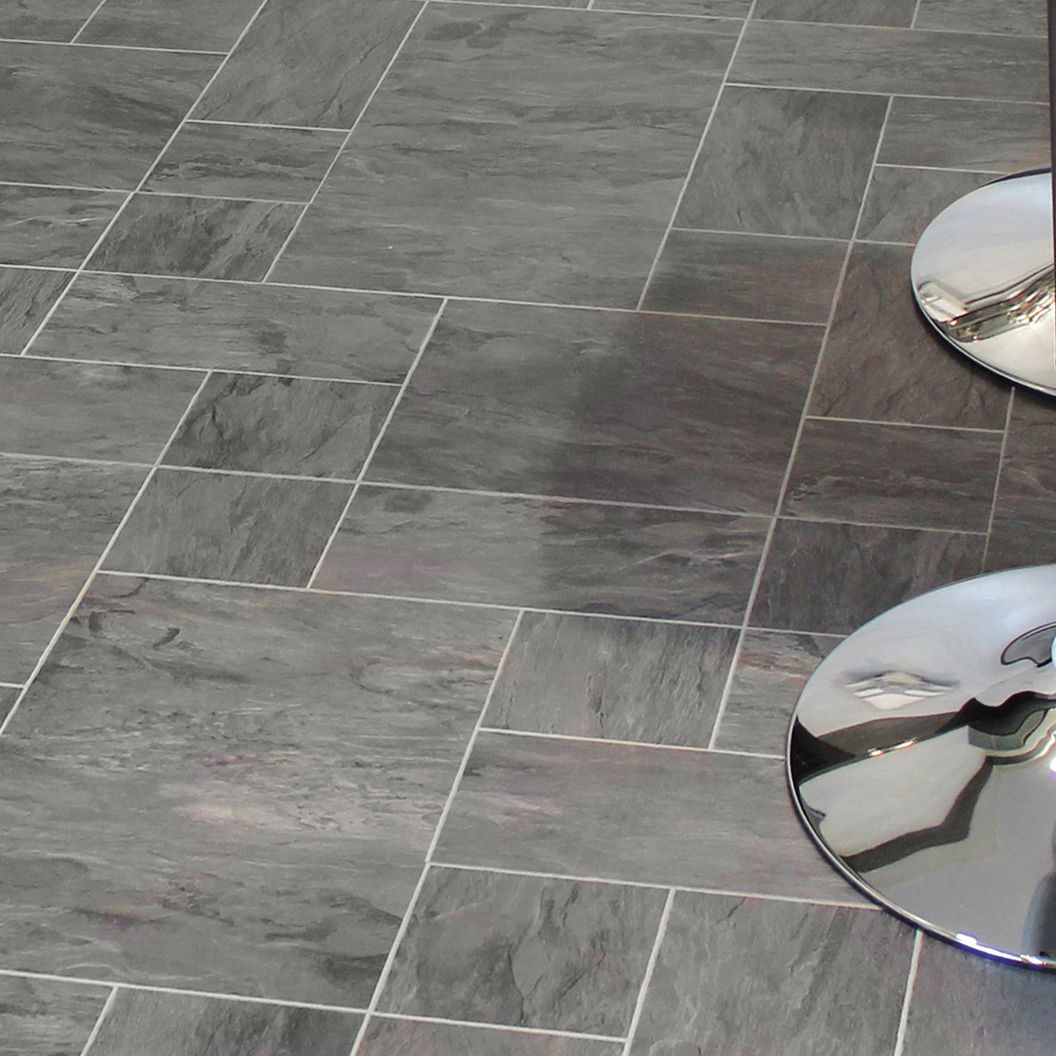 Libretto Black Slate Effect Laminate Flooring 186 M Pack