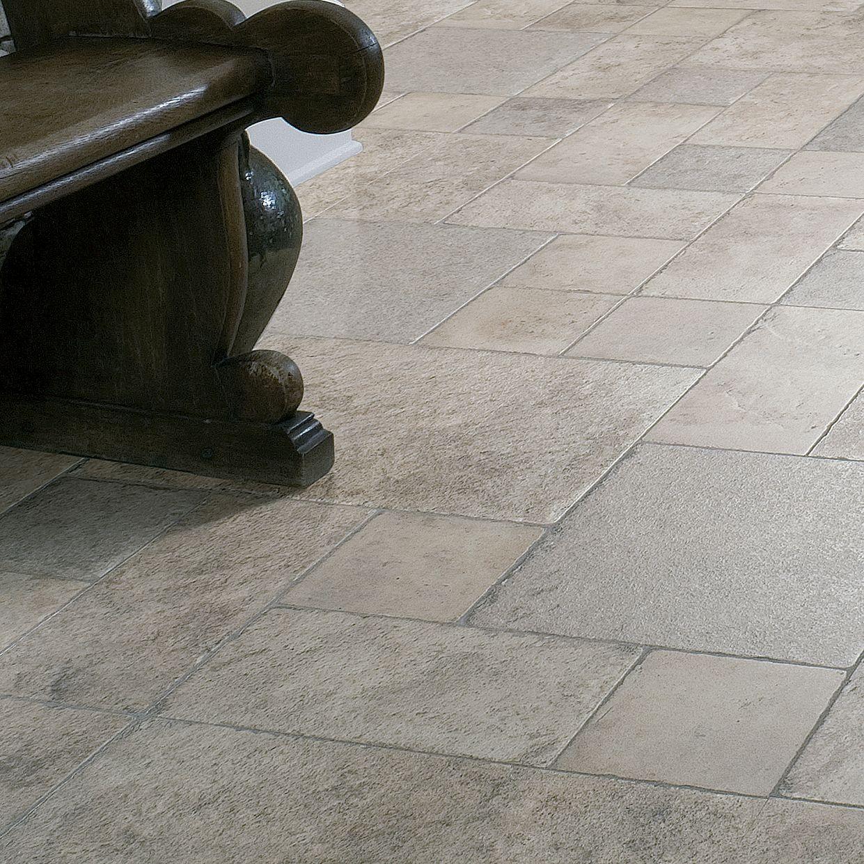 Leggiero Natural Stone Effect Laminate, Leggiero Silver Blue Slate Effect Laminate Flooring