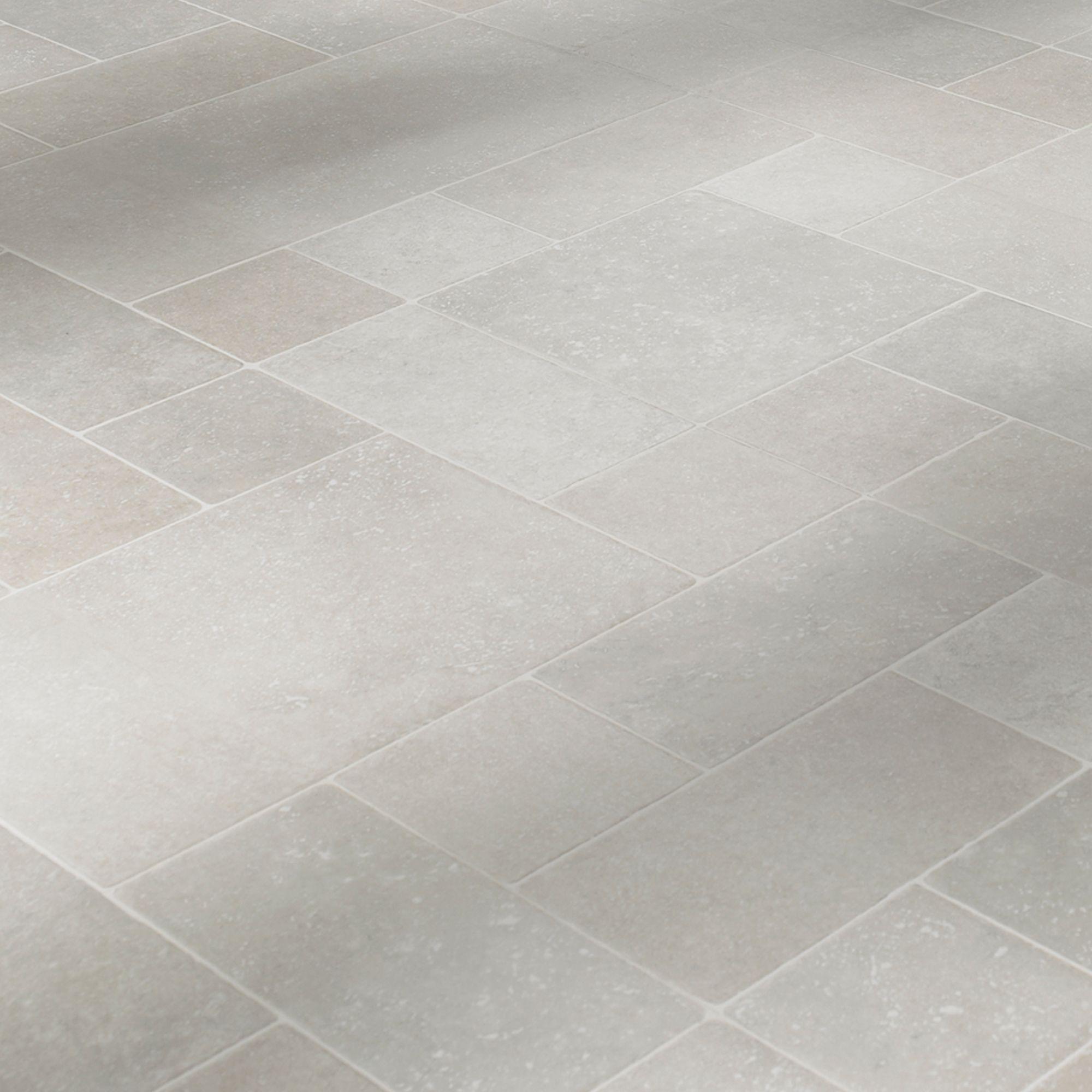 Barbarita Limestone Effect Laminate Flooring 9.9 m² Pack