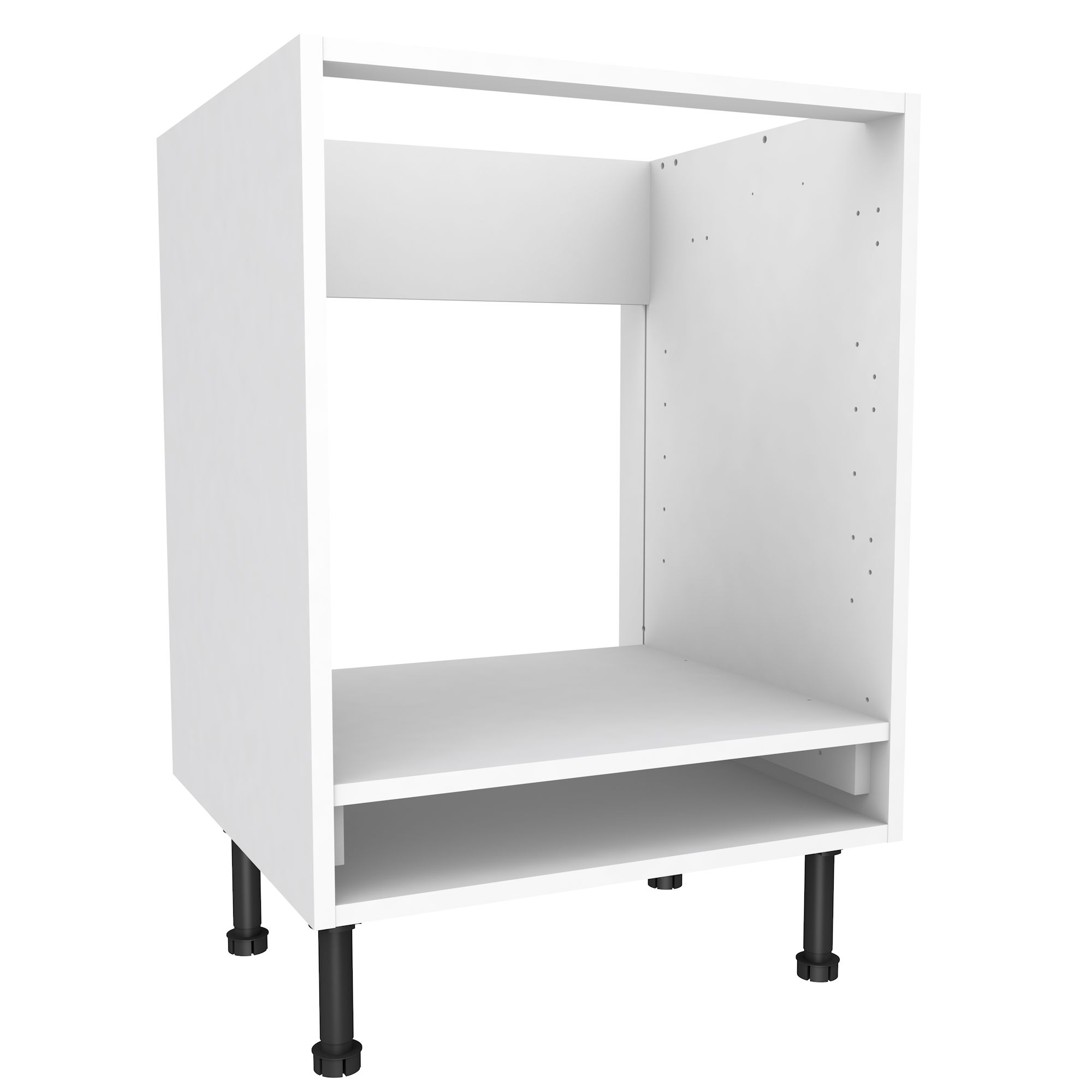 Superieur Cooke Lewis White Oven Housing Base Cabinet W 600mm