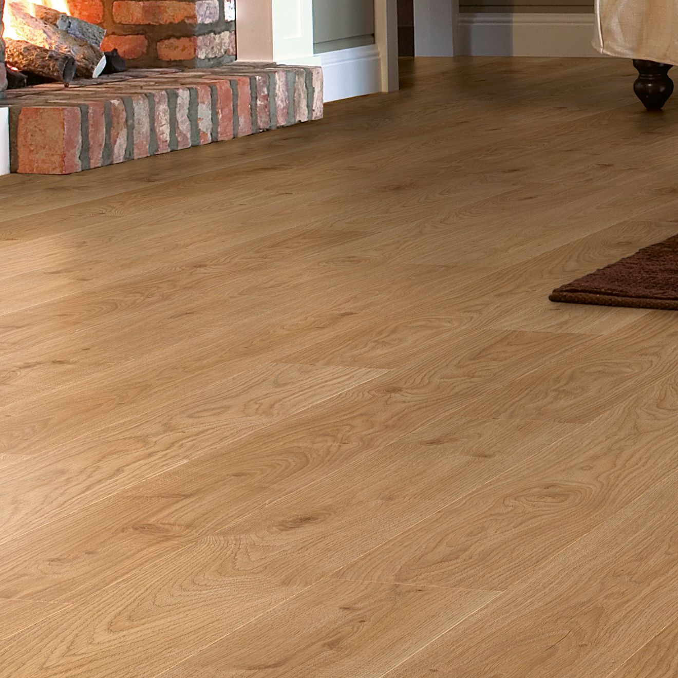Quickstep Andante Natural White Oak, Quickstep Andante Oak Effect Laminate Flooring