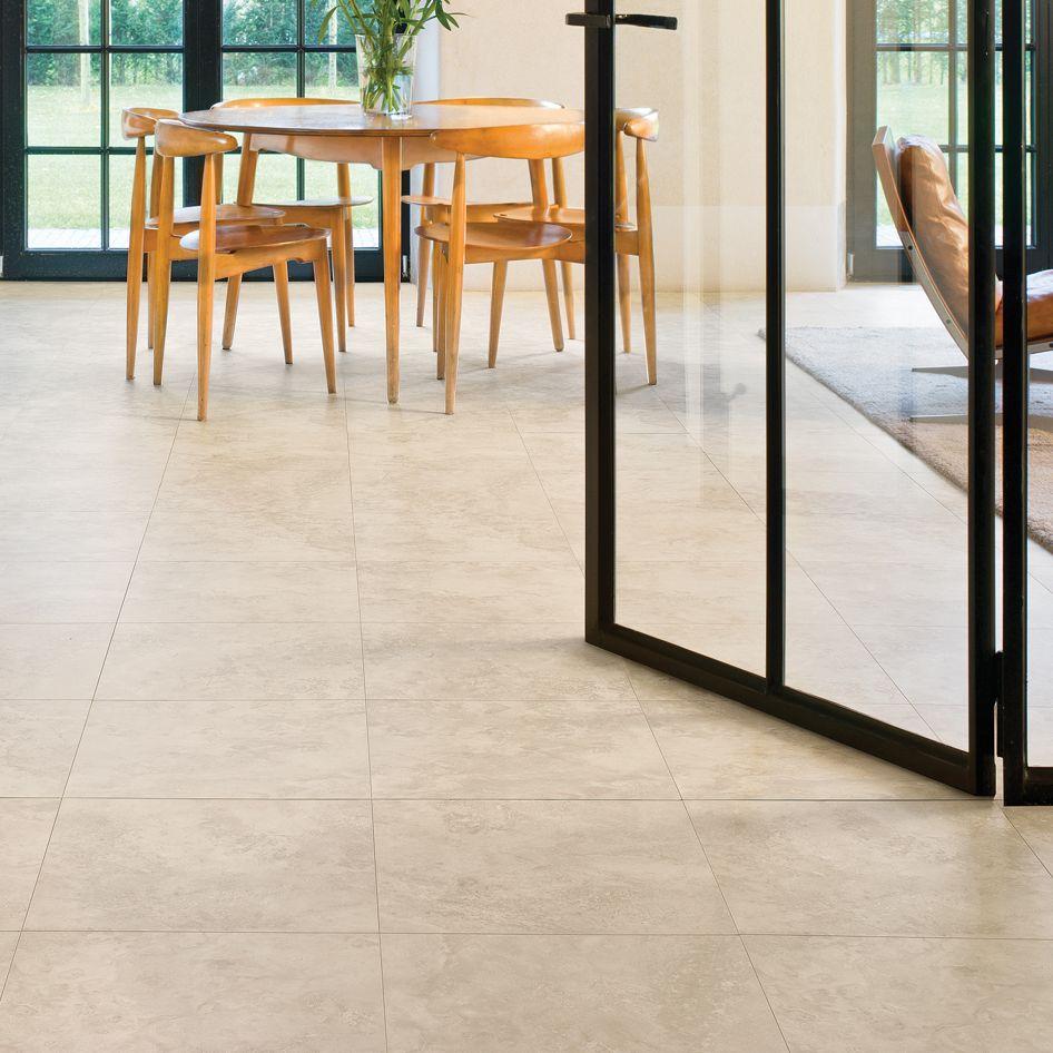 Quickstep Tila Cream Travertine Tile Effect Laminate Flooring 1 m² Pack