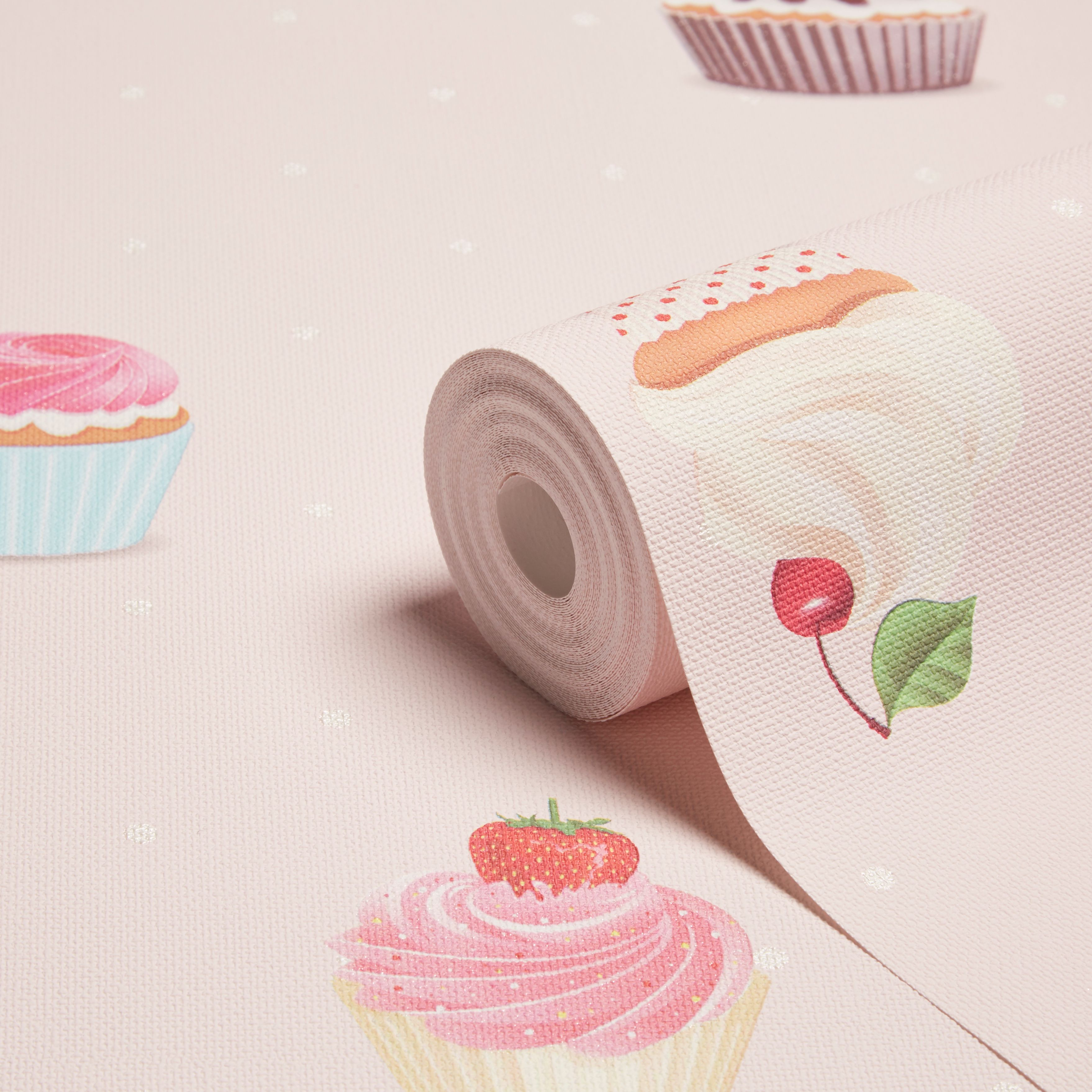 grandeco cupcakes pink cupcakes