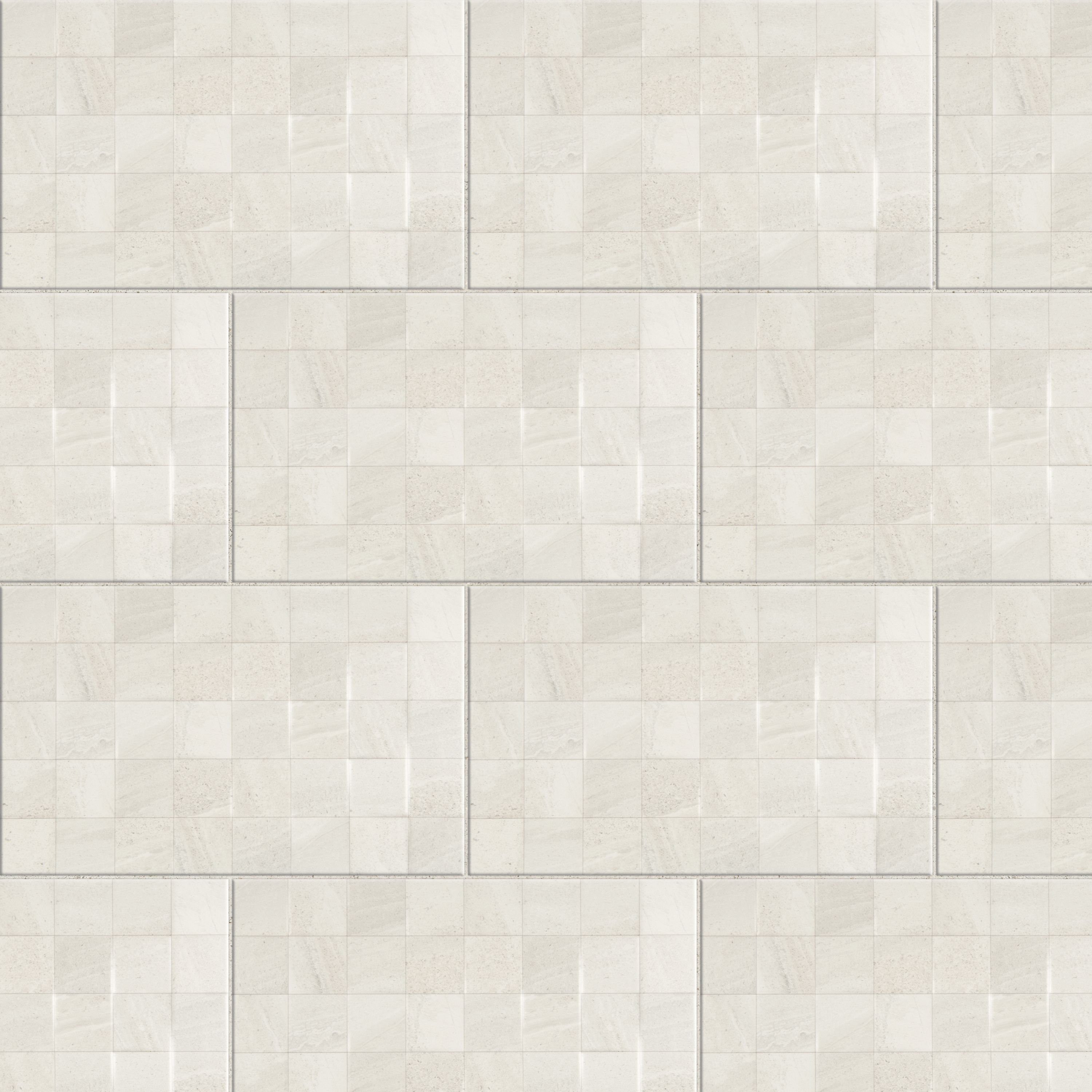 Fiji white ceramic wall tile pack of 10 l400mm w250mm dailygadgetfo Choice Image