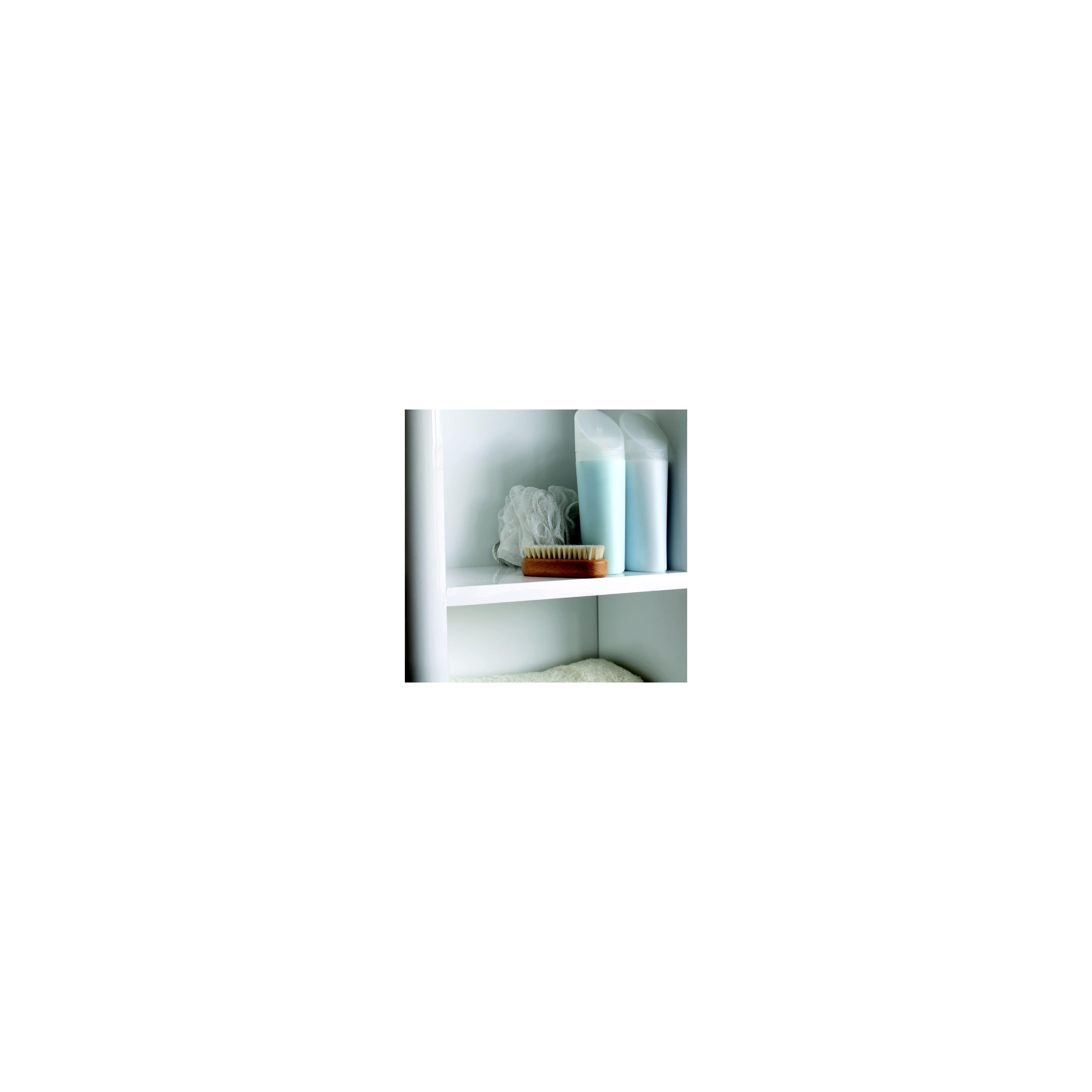 Aliso Tall Boy Bathroom Cabinet - White Gloss