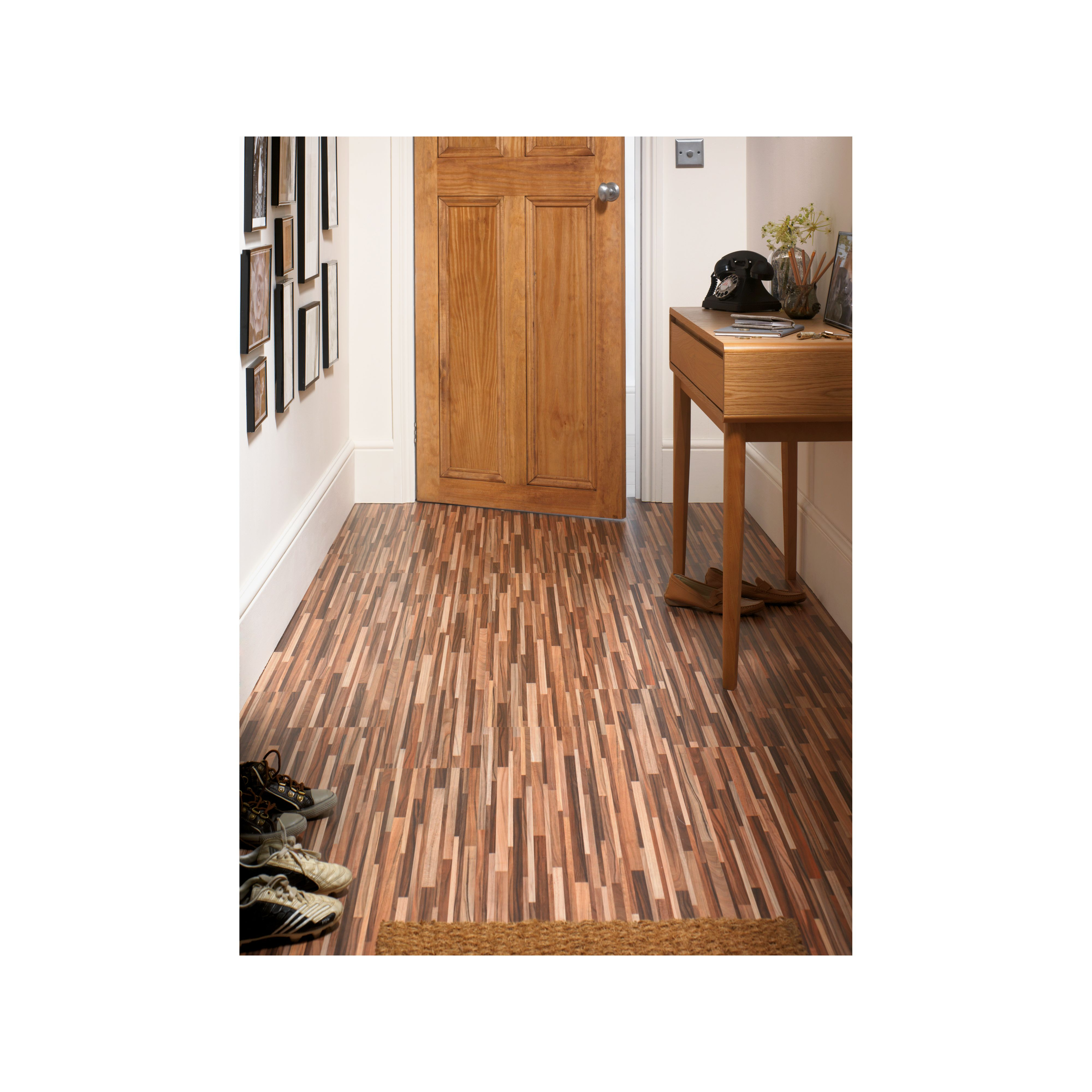Hygena Zebrano Laminate Flooring 2 13sq M Per Pack